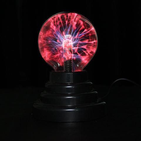 USB Plasma Ball Lightning Light Magic Crystal Lamp Globe - MooBooExpress