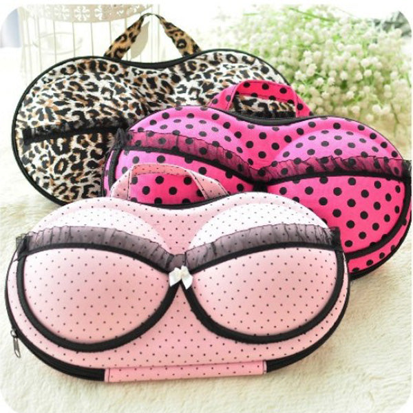 Creative Bra Underwear, Portable Organizer Storage Box Bags