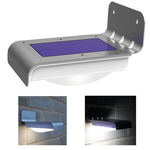 Solar LED Motion Sensor Waterproof Wall Light For Home Garden Outdoor