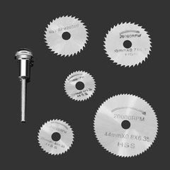 Drillpro 6pc Circular Saw Blade Set For Metal & Rotary Tools