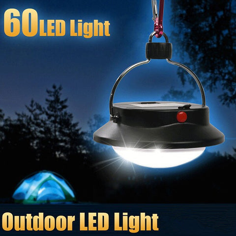 IPRee Outdoor Portable LED Camping Hiking Tent Night Lamp Light