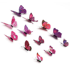 Butterfly Wall Sticker Magnet Decor Sticker