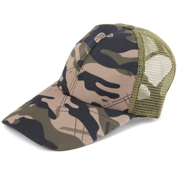 Desert Forest Camo Camouflage, Army Hunting Baseball Ball Cap Hat