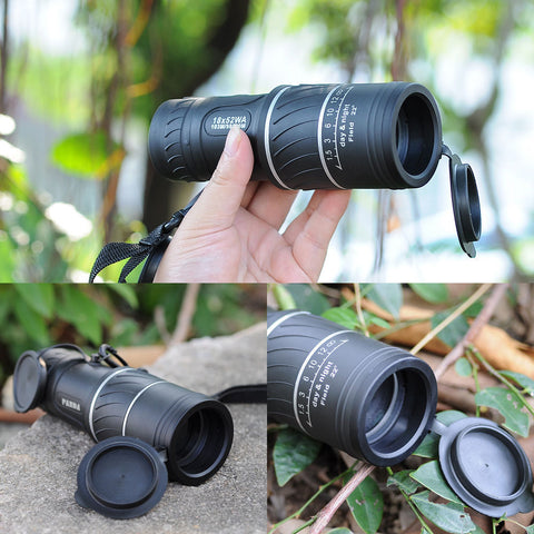 Outdoor HD Optical Monocular Telescope, Clear Vision Viewing Lens - MooBooExpress