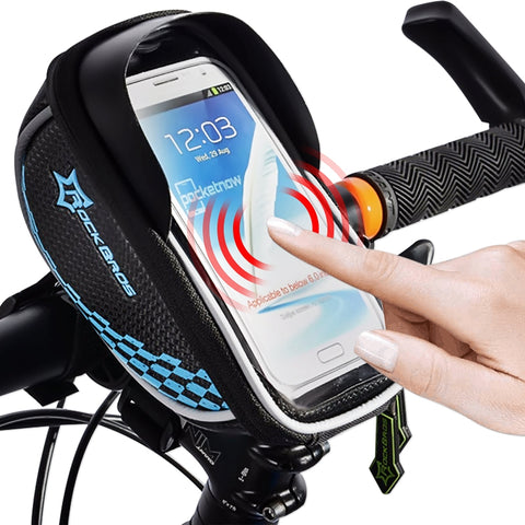 Original RockBros Universal Bike Bag Touch Screen Cycling Pouch - MooBooExpress