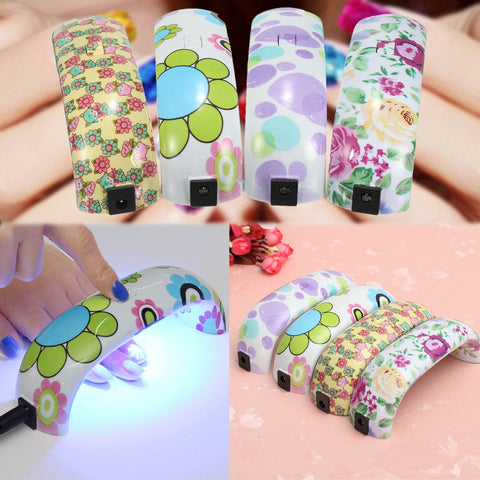 Mini LED Nail Dryer Lamp Machine - MooBooExpress