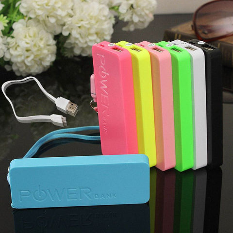 Ultra Thin External Portable Power Bank USB Battery Charger - MooBooExpress