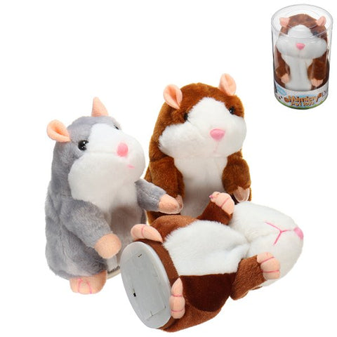 Talking Hamster Pet Plush Toy Cute Speak Sound Record Hamster