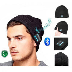 Bakeey™ Knitted Hat Wireless Bluetooth Earphone Music Smart Cap