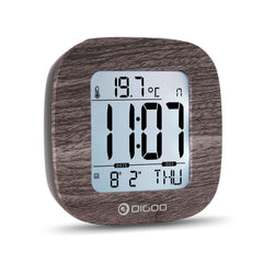 Digoo Digital Alarm Clock Temperature Thermometer Backlit LCD