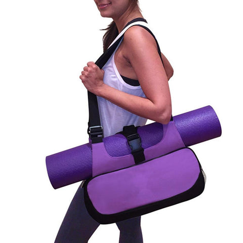 Yoga Mat Canvas Bag Shoulder Sport Bags - MooBooExpress