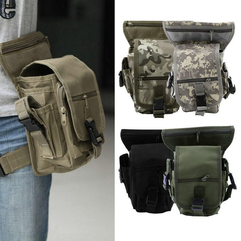 IPRee® Outdoor Leg Bag Utility Thigh Waist Pack, Pouch For Camping Hunting