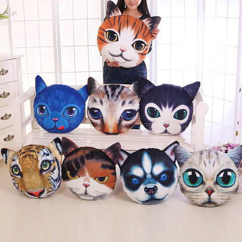 Creative Funny Pillow Cotton Simulation Animal Cushion - MooBooExpress