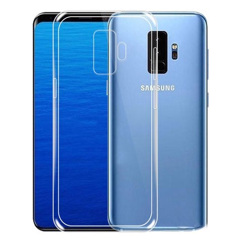 Soft Ultra Thin Transparent Back Case for Samsung Galaxy S9 Plus