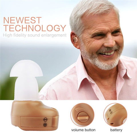 Best Sound Volume Amplifier Adjustable Tone Hearing Aids