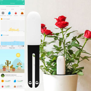 Original Xiaomi 4 In 1 Flower Light Temperature Tester, Soil Moisture Nutrient Monitor - MooBooExpress