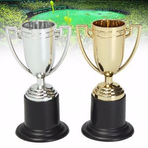 Mini Trophy Trophies Football, Soccer Cup Prize Award Party - MooBooExpress