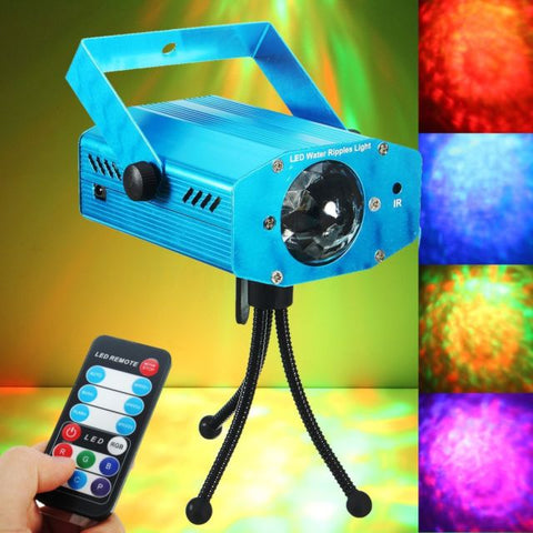 Mini LED Laser Projector Auto/Sound Party Stage Light Lamp - MooBooExpress
