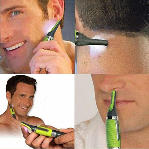 Personal Ear Nose Neck Hair Trimmer Clipper With LED Light - MooBooExpress