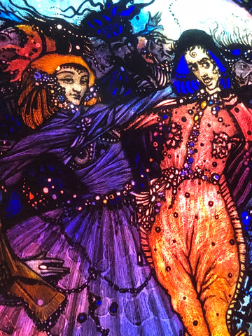 Harry Clarke stained glass how to commission a stained glass window
