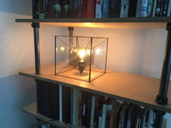 Tesseract Lamp, Tesseract Light, Tesseract, lamp, Light, Lighting