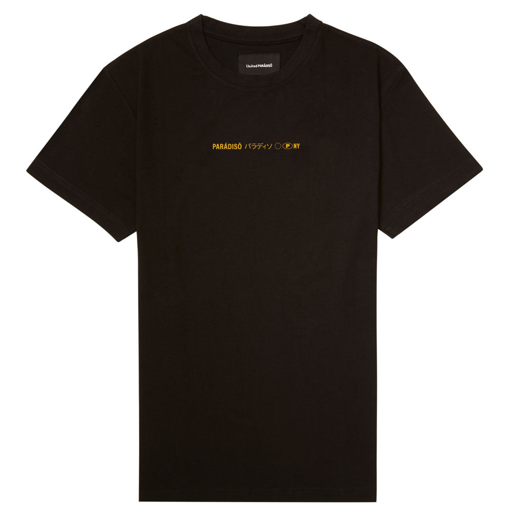 BLACK 'LOST IN TRANSLATION' SUPIMA T-SHIRT