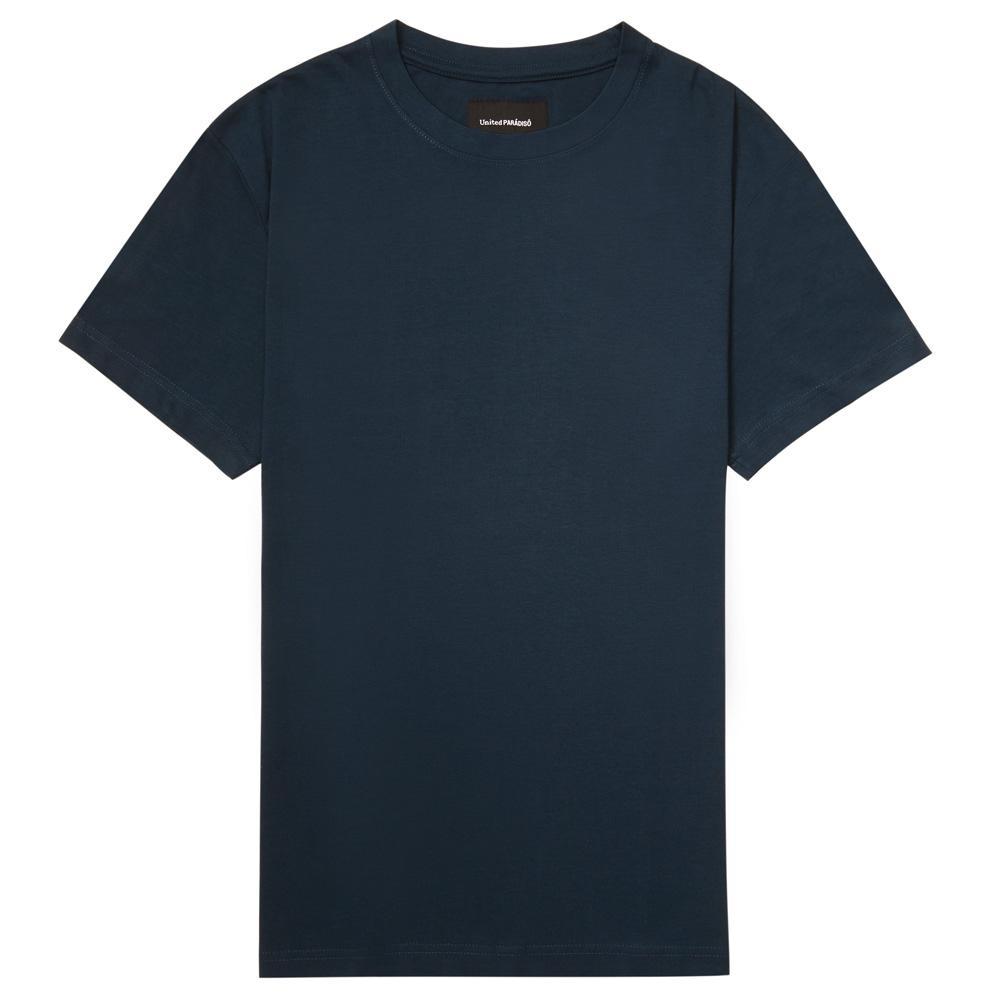 Load image into Gallery viewer, Paradiso Navy Crested Short-Sleeved Supima T-Shirt Front