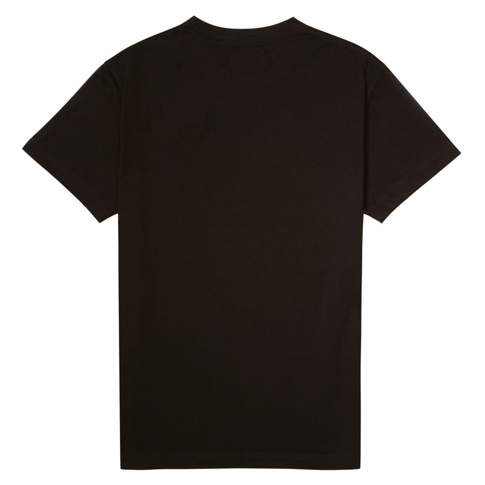 Load image into Gallery viewer, Paradiso Black Logo Short-Sleeved Supima T-Shirt Black