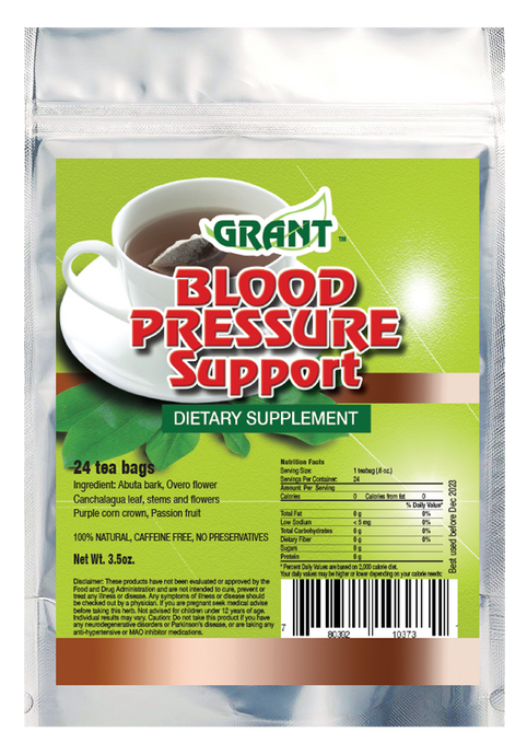 Blood Pressure Support Tea Bags
