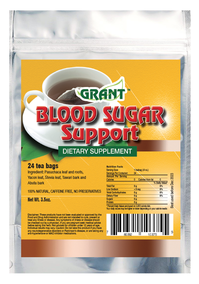 Blood Sugar Support Tea Bags