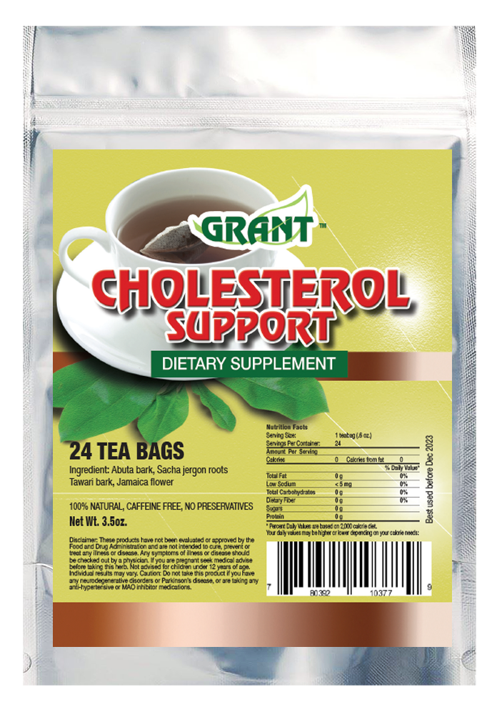 Cholesterol Support Tea Bags