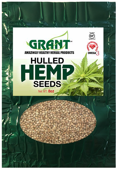 Hulled Hemp Seeds (8 oz)