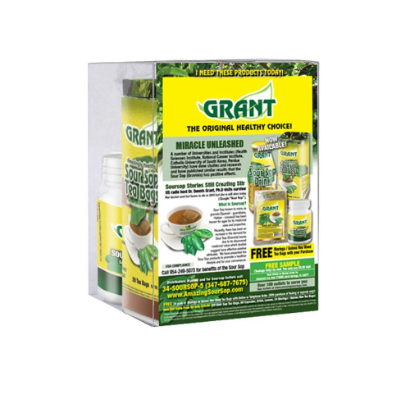 Grant Multi-Pack | Sour Sop Tea Bags, Ginger Capsules, Leaves