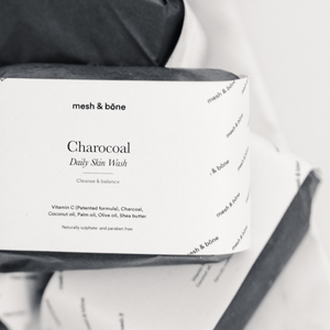 Charcoal Daily Face Wash - mesh & bōne