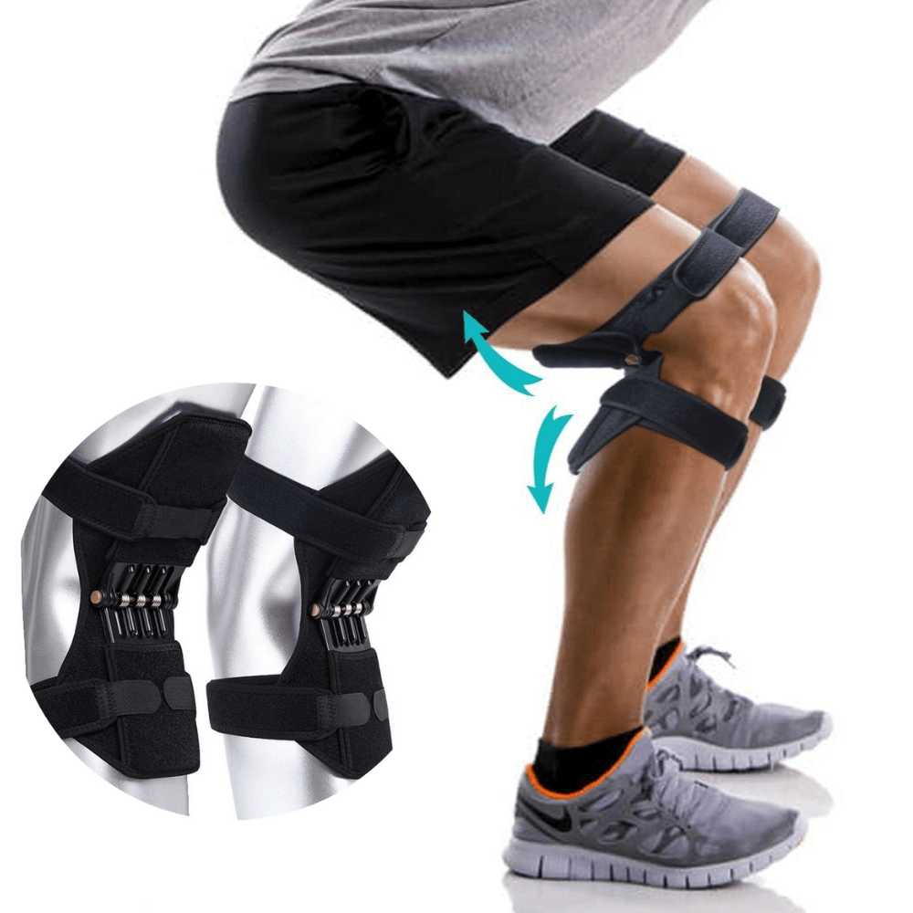 Hinged Knee Brace Stabilizer 1 Pair