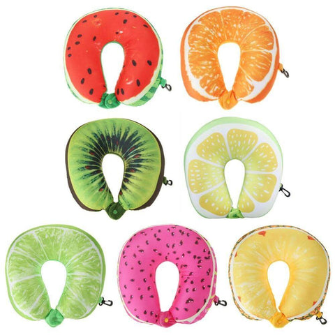 Fruit Travel Neck Pillow