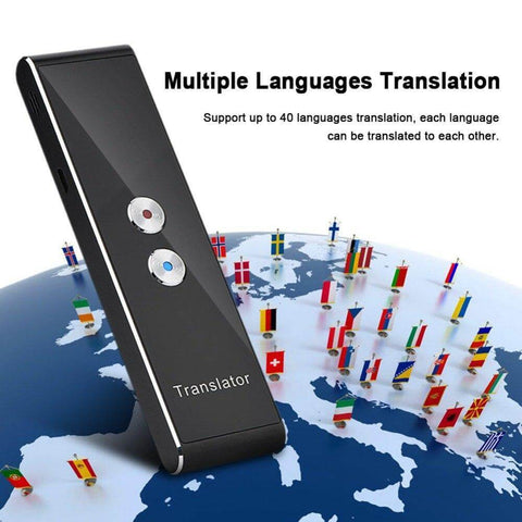 40 Languages Smart Instant Voice Translator