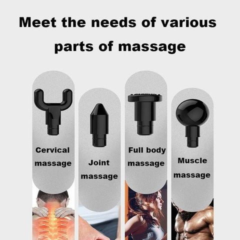 Professional Muscle Massage Gun 4-in-1 - Redqem