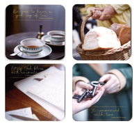 Mercy Tea Coasters -  Set of 4