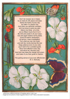 Poster- Catherine McAuley to Elizabeth Moore, Don't let crosses vex or tease,