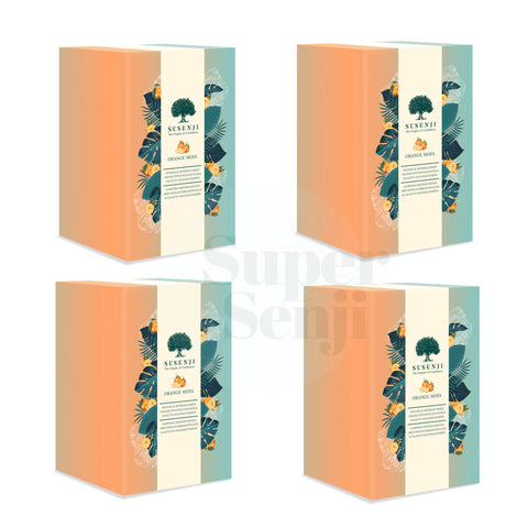 Susenji Drink Orange Mofa 4 Boxes Value Bundle