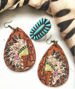 War Bonnet Earrings