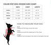 size chart for dog hoodie