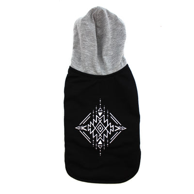 Tribal Print Hoodie for Dogs