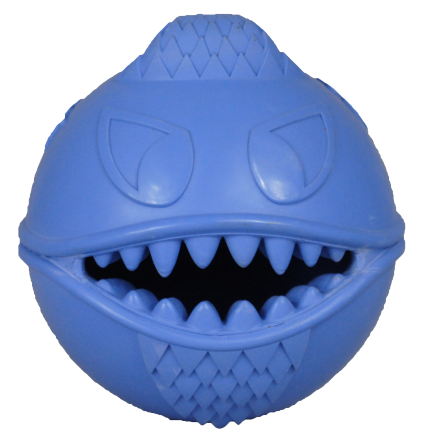 Blue Monster Mouth Treat Ball