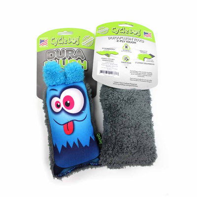 Blue Monster Dog Toy with no squeakers