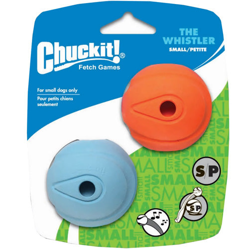 Chuck-it Whistler Balls for Dogs, 2 pack