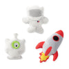 Mini Space Theme Dog Toys