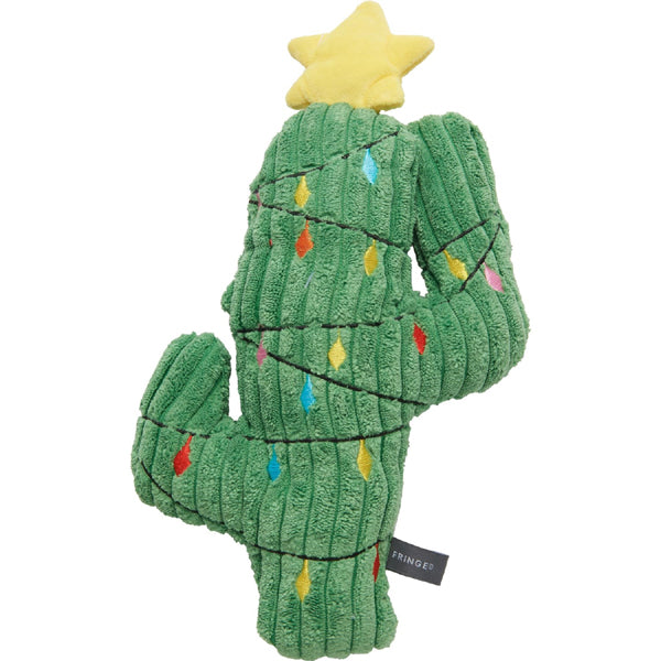 Christmas Cactus Dog Toy Front