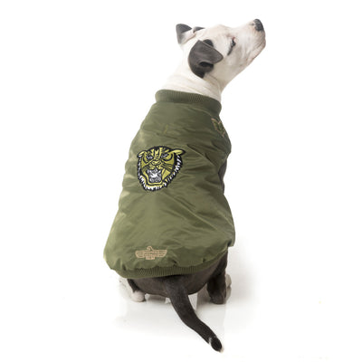 Air Force One Bomber Jacket for Dogs